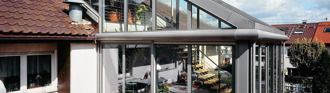 Wintergarten aus Produktion von Novak E92