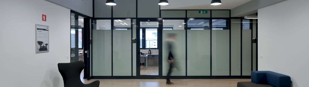 Trennwand-System Office E92 aus Produktion von Novak E92